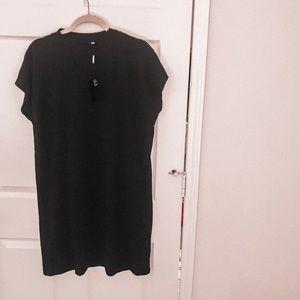 NWT Weekday Cotton Mockneck Dress